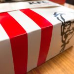 ケンタッキーの箱